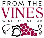 from the vines wine tasting bar logo